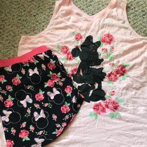 Minnie Mouse pajamas. XL (16-18)